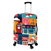 London Large Luggage Cover