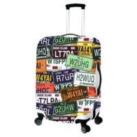 License Plate Medium Luggage Cover
