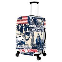 New York Medium Luggage Cover