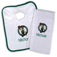 NBA Boston Celtics Bib and Burb Cloth Set