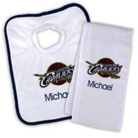NBA Cleveland Cavaliers Bib and Burb Cloth Set