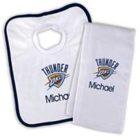 NBA Oklahoma City Thunder Bib and Burb Cloth Set
