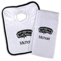 NBA San Antonio Spurs Bib and Burb Cloth Set