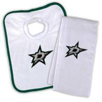 NHL Dallas Stars Bib and Burb Cloth Set