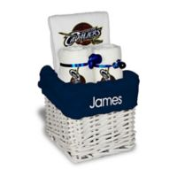 Designs by Chad and Jake 3-Piece Cleveland Cavaliers Small Gift Basket in White