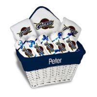 Designs by Chad and Jake 8-Piece Cleveland Cavaliers Large Gift Basket in White