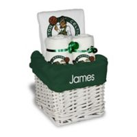 Designs by Chad and Jake 3-Piece Boston Celtics Small Gift Basket in White