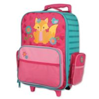 Stephen Joseph™ Fox Rolling Luggage in Pink