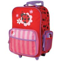 Stephen Joseph™ Ladybug Rolling Luggage in Red