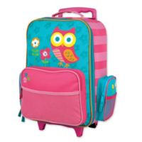 Stephen Joseph™ Owl Rolling Luggage in Pink