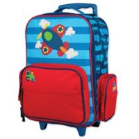 Stephen Joseph™ Airplane Rolling Luggage in Blue