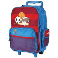 Stephen Joseph™ Sports Rolling Luggage in Blue