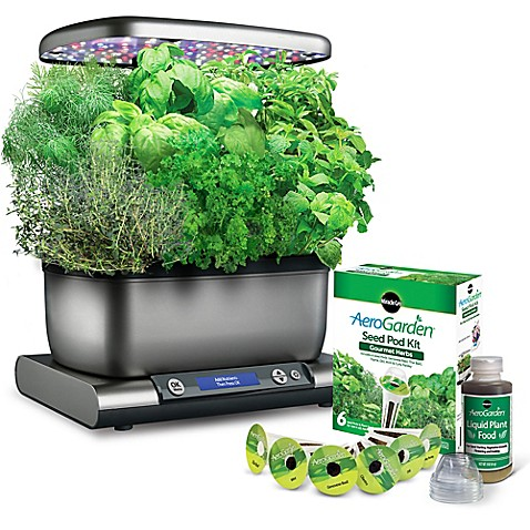 Miracle Gro 174 Aerogarden Harvest Plus With Seed Kit Bed