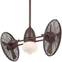 Minka-Aire® Gyro™ 42-Inch Twin Turbo Finish Indoor/Outdoor Ceiling Fan in Oil Rubbed Bronze