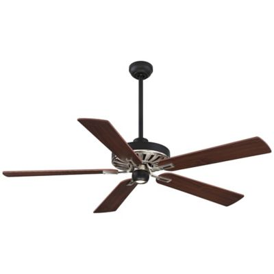 Minka Aire® Iconic™ 60 Inch Ceiling Fan With Matte Black And Brushed