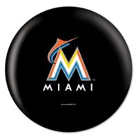 MLB Miami Marlins 10 lb. Bowling Ball