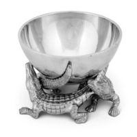 Arthur Court Designs Alligator Elevated Bowl