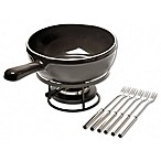 Emile Henry 8-Piece Fondue Set in Charcoal