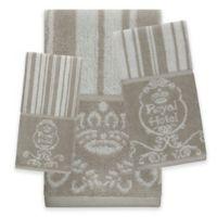 Royal Hotel Fingertip Towel in Taupe