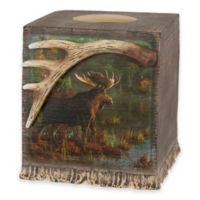 Back Bay Moose Boutique Tissue Box Cover