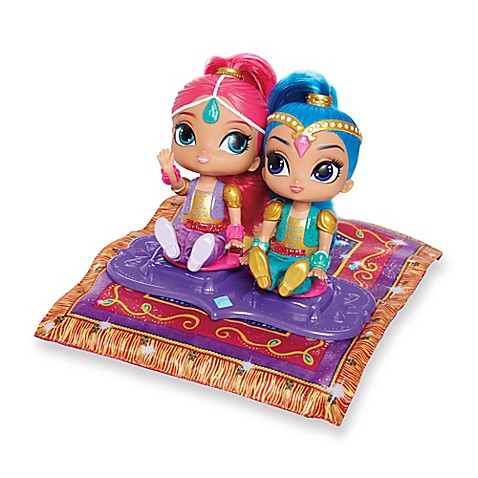 Fisher Price 174 Shimmer And Shine Magic Flying Carpet Bed