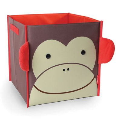 SKIP*HOP® Zoo Monkey Large Canvas Storage Bin
