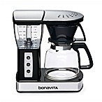 Bonavita 8-Cup Glass Carafe Coffee Brewer in Stainless Steel/Black