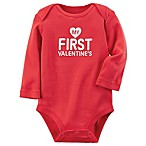 carter's®  My First Valentine's  Size 6M Bodysuit in Red