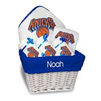 NBA Designs By Chad And Jake 5-Piece New York Knicks Medium Gift Basket in White