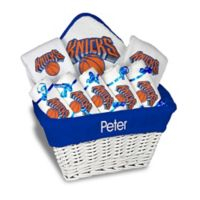 NBA Designs By Chad And Jake 8-Piece New York Knicks Large Gift Basket in White