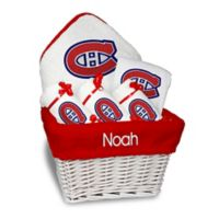 NHL Designs By Chad And Jake 5-Piece Montreal Canadiens Medium Gift Basket in White
