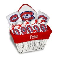 4caf6734f Designs by Chad and Jake NHL Personalized 8-Piece Montreal Canadiens Large  Gift Basket in