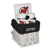 NHL Designs By Chad And Jake 3-Piece New Jersey Devils Small Gift Basket in White