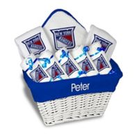 NHL Designs By Chad And Jake 8-Piece New York Rangers Large Gift Basket in White