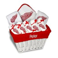 Designs by Chad and Jake 8-Piece NHL Detroit Red Wings Large Gift Basket