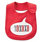 "carter's® ""XOXO  Bib in Red"