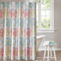 Echo Design Cyprus 72-Inch x 72-Inch Shower Curtain
