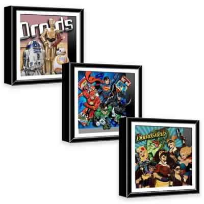 Comics 13-Inch Shadow Box Wall Art Collection