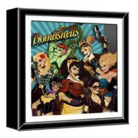 DC Bombshells 13-Inch Shadow Box Wall Art