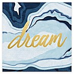 Dream  Foil Embellished Canvas Wall Art