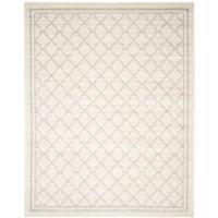 Safavieh Amherst 10-Foot x 14-Foot Quine Indoor/Outdoor Area Rug in Beige/Light Grey