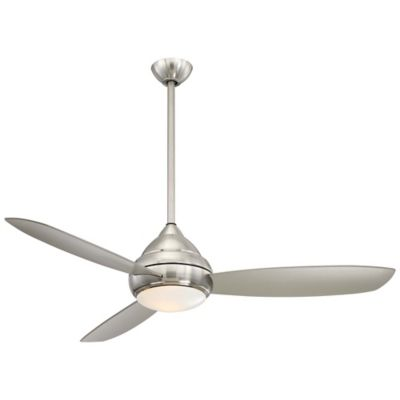 Minka aire concept i 58 inch single light outdoor ceiling fan