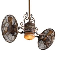 Minka-Aire® Traditional Gyro™ 42-Inch Twin Turbo Ceiling Fan in Belcaro Walnut