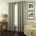 Spiral 63-Inch Grommet Top Window Curtain Panel in Spa