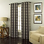 Spiral 63-Inch Grommet Top Window Curtain Panel in Charcoal