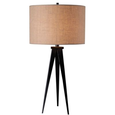 Kenroy Home Foster Tripod Table Lamp In Bronze