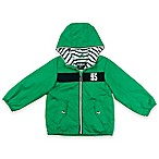 carter's® Size 2T Stripe Mesh Jacket in Green