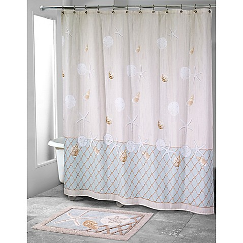 avanti sea glass shower curtain bed bath amp beyond 85724