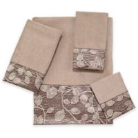 Avanti Branches Fingertip Towel in Linen
