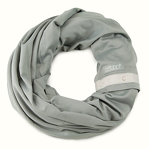Nuroo® Nursing Scarf in Stone Grey
